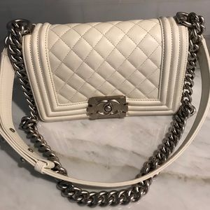 CHANEL Bags - Chanel Boy bag size small